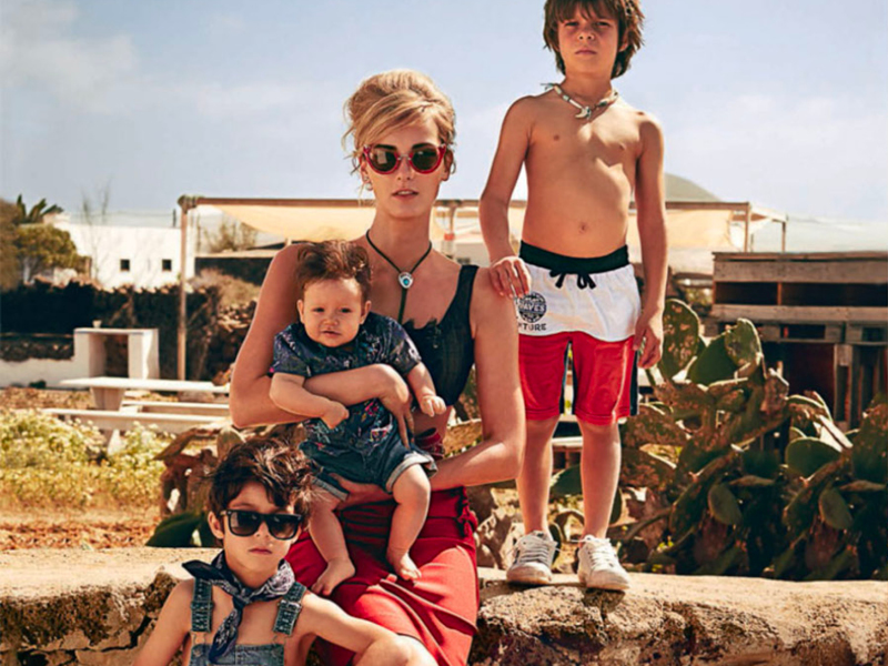 VANITY FAIR SHOOTING FUERTEVENTURA KIDS 800X600