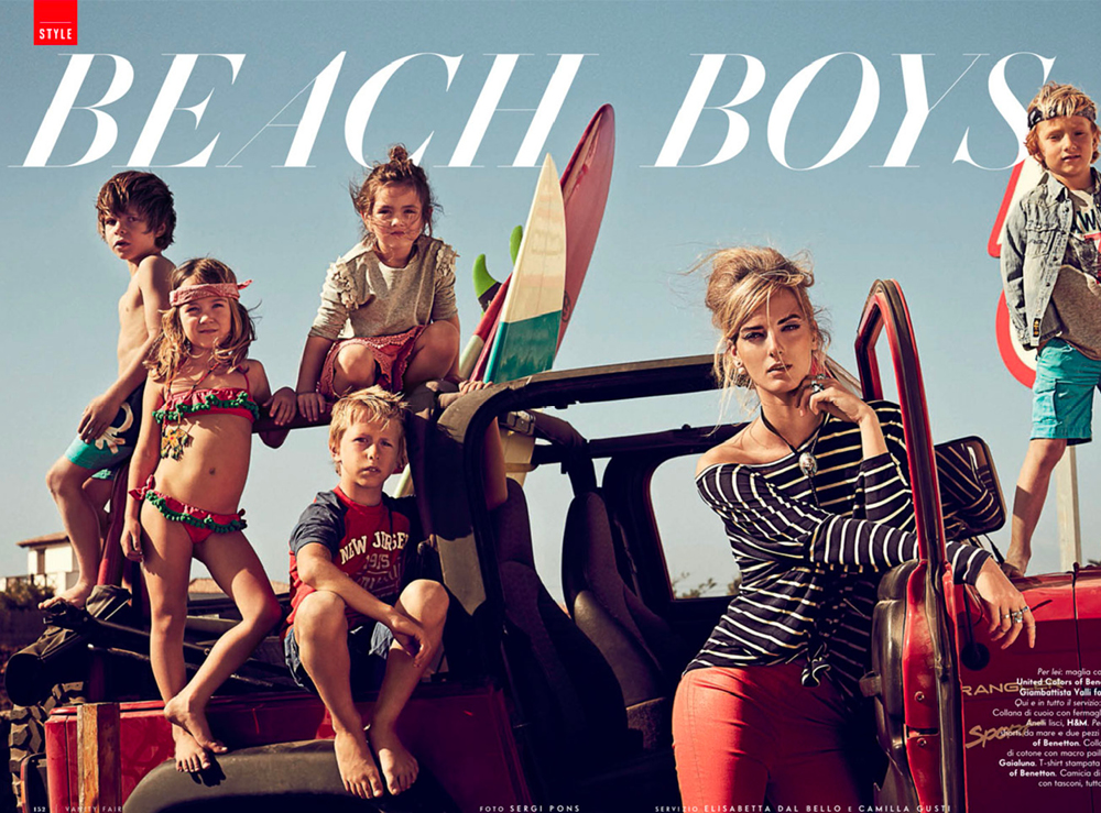 VANITY FAIR SHOOTING KIDS FUERTEVENTURA 01